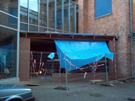 Unser Pub als Baustelle