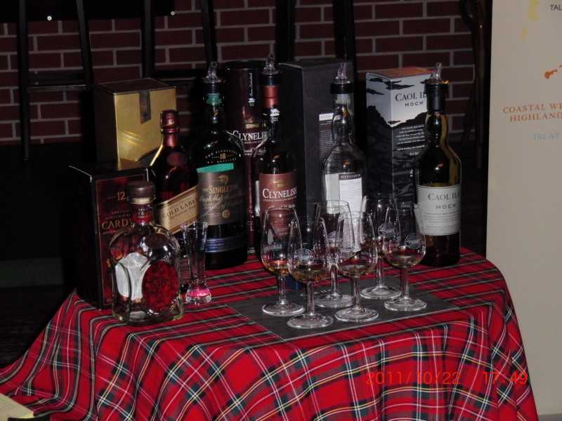Whiskytasting im Double Inn