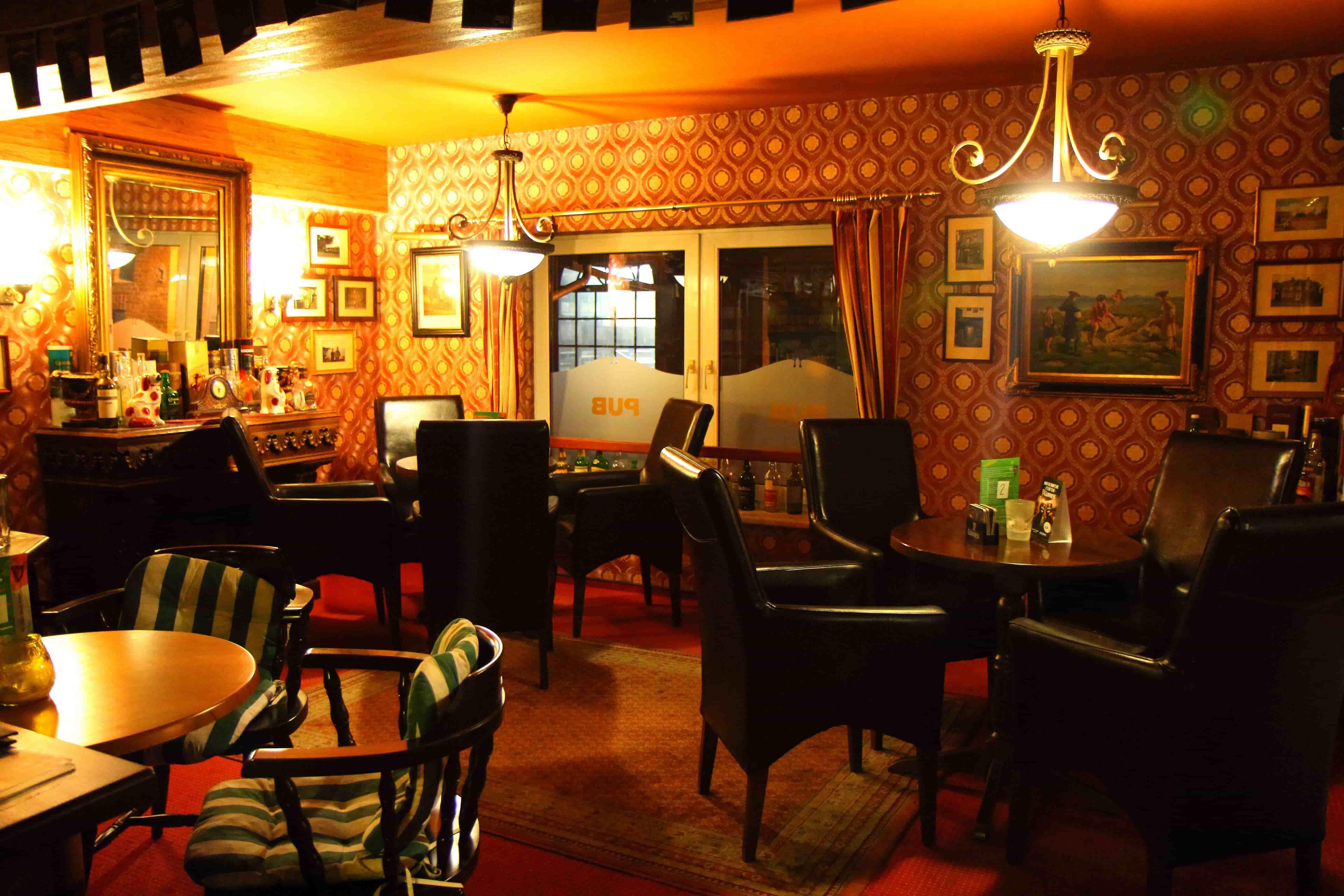 Unsere Whiskyecke im Double Inn